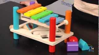 Xylophone Pounding Bench From Maxim Enterprise, Inc.