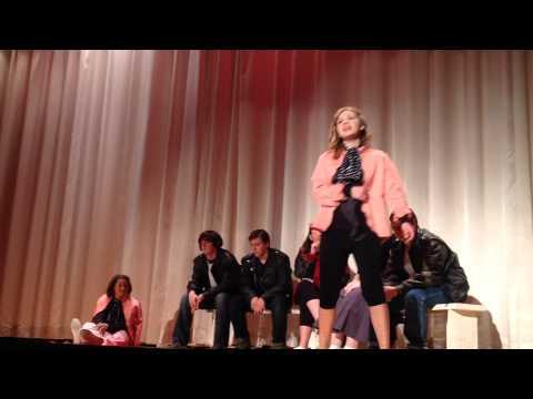 Ariana as Rizzo in Grease-Momence High School