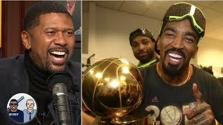 JR Smith can't solve the Rockets' problems - Jalen Rose | Jalen & Jacoby