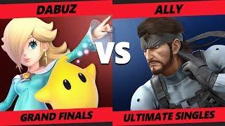 Crown 2019 SSBU - Liquid   Dabuz (Rosalina) Vs. Ally (Snake) Smash Ultimate Tournament Grand Finals