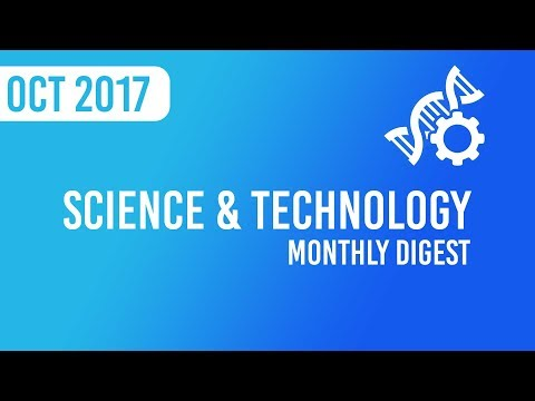 Monthly Digest - Science and Technology Current Affairs November 2017