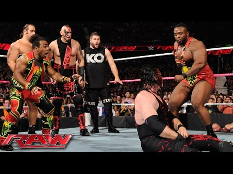 Demon Kane vs. Seth Rollins - Lumberjack Match: Raw, October 12, 2015