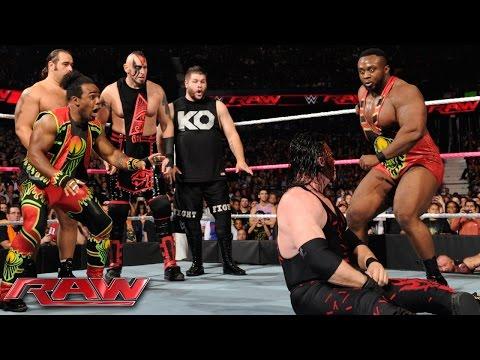 Demon Kane Vs. Seth Rollins - Lumberjack Match: Raw, October 12, 2015