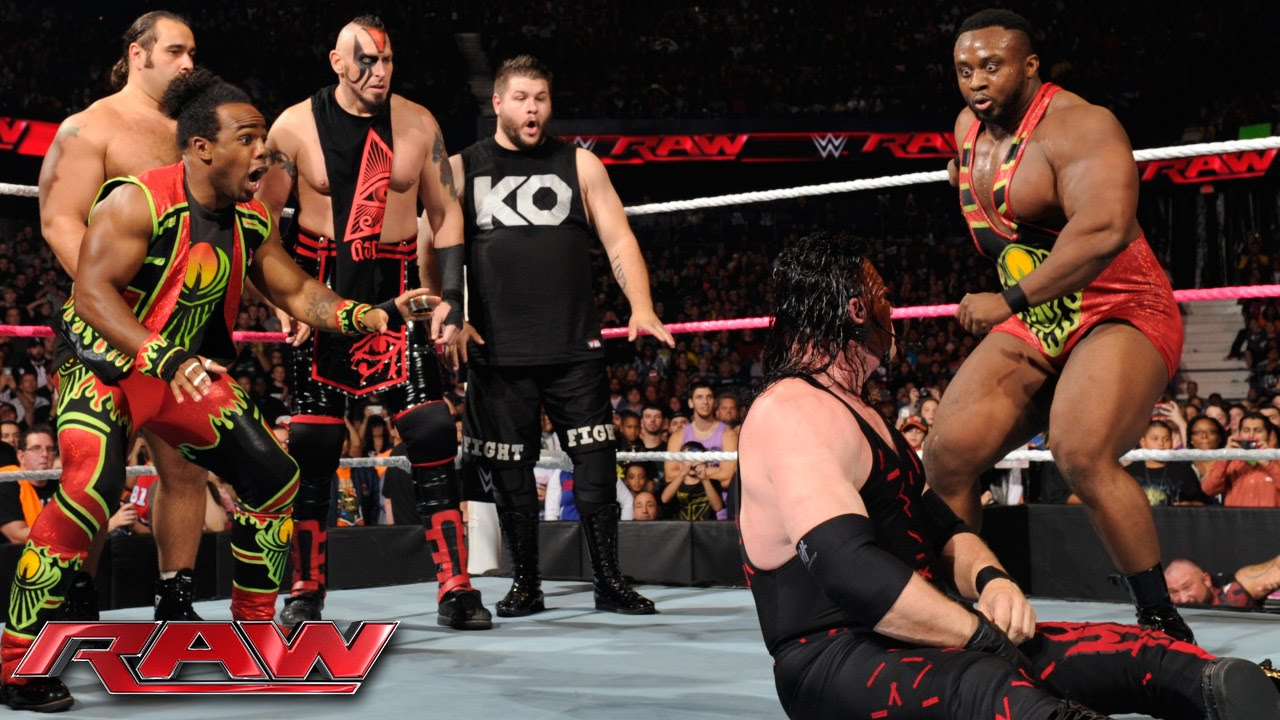 Download Demon Kane vs. Seth Rollins - Lumberjack Match: Raw, October 12, 2015