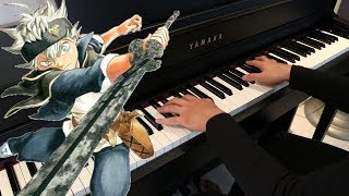 Black Clover Ed 1 Aoi Honoo Piano