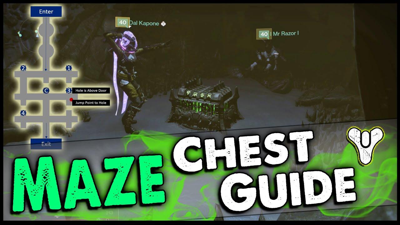 Destiny Kings Fall Raid Maze Chest Location Guide Golgoroths