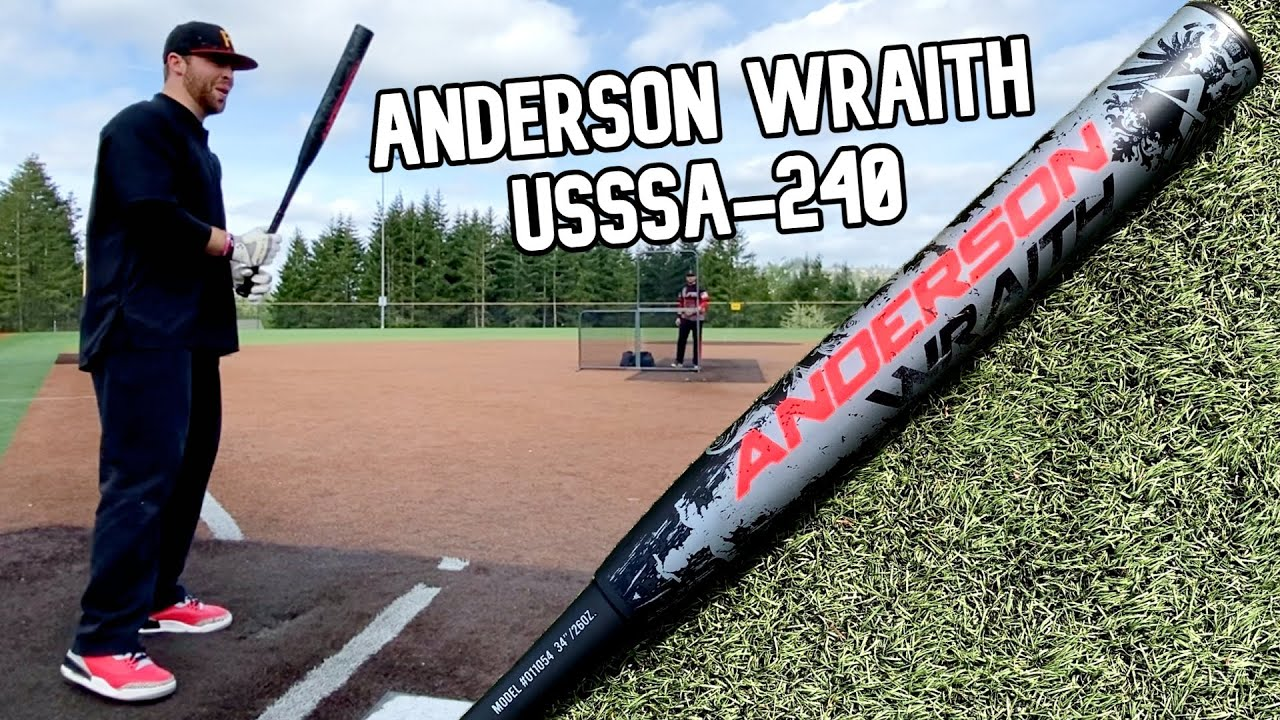 Hitting with the ANDERSON WRAITH | USSSA 240 Slowpitch Softball Bat Review