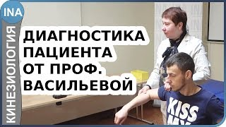 Диагностика пациента от проф. Л.Ф.Васильевой. Прикладная кинезиология