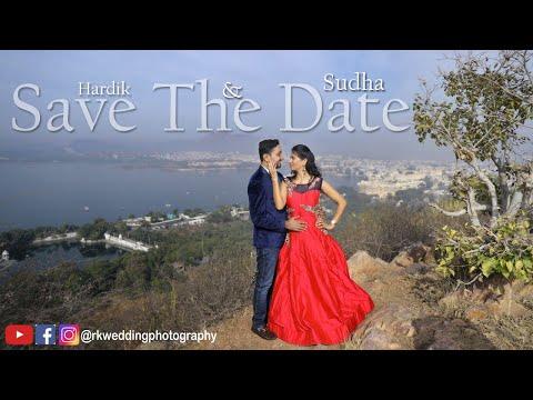 Latest Save The Date || Hardik & Sudha || 2019 || TeamRK || Udaipur