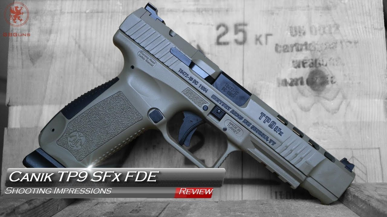 Canik TP9 SFx FDE Competition Grade Pistol - Review
