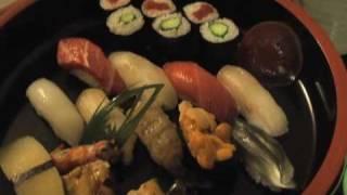 新宿・京王プラザホテルのルームサービス「銀座 久兵衛」の特上鮨の握り