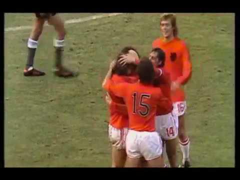 World Cup 1974 2nd Round: Netherlands 4 - 0 Argentina