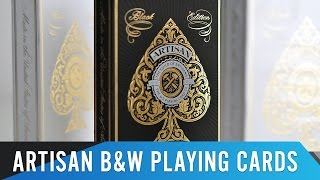 Hands-On Review: Artisan B&W Playing Cards by Theory11