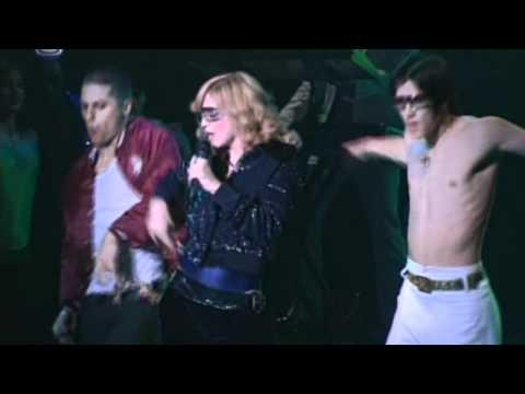 Madonna  - Hung Up (Live at Studio Coast in Japan)