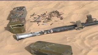 Tunus savaş uçakları Lİbya sınırında kaçakçıları vurdu