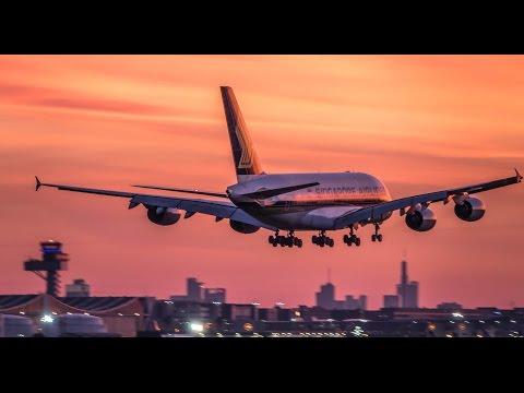 Planespotting Frankfurt Airport April 2017