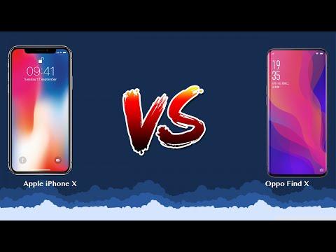 Apple iPhone X vs Oppo Find X   - Phone battle!