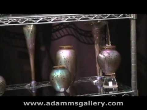 Art Gl, Craig Zweifel, Adamm's Gallery - YouTube Zweifel Gl Vase on