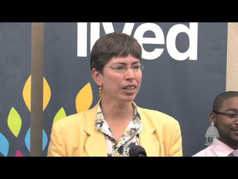 Illinois Lt. Gov. Sheila Simon talks about college affordability at UIS