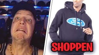 1000€ Versace x Ford Hoodie😂 MontanaBlack Shopping Stream Highlights