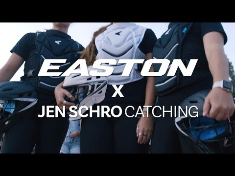 Easton's Jen Schro The Very Best Catcher's Gear: Tech Video