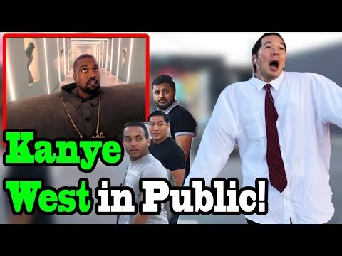 "KANYE WEST, LIL PUMP - ""I Love It"" - SINGING IN PUBLIC!!"