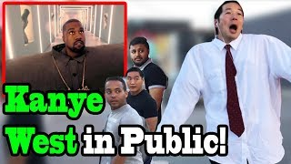 KANYE WEST, LIL PUMP - 'I Love It' - SINGING IN PUBLIC!!