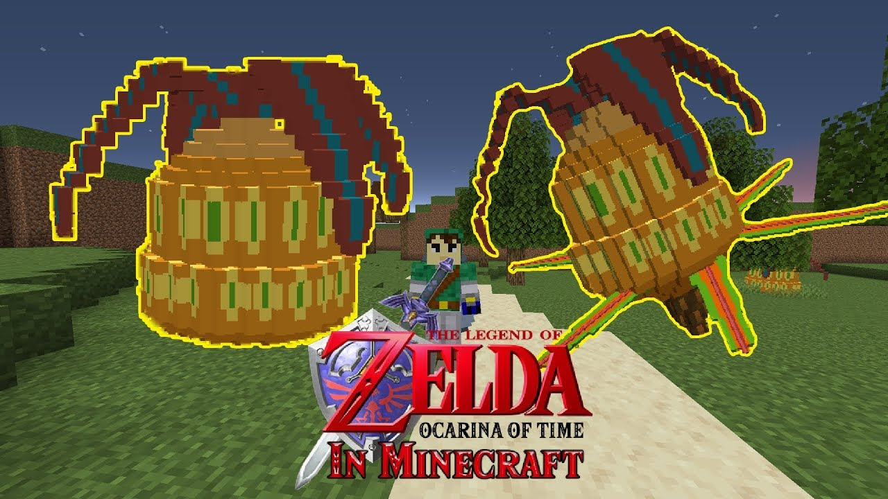 The Legend of Zelda Ocarina of Time Map For Minecraft 1 15