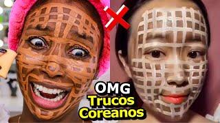 PROBANDO TRUCOS RAROS COREANOS #5 | Mary Pulido