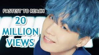 [TOP 15] FASTEST K-POP GROUP MV TO REACH 20 MILLION VIEWS
