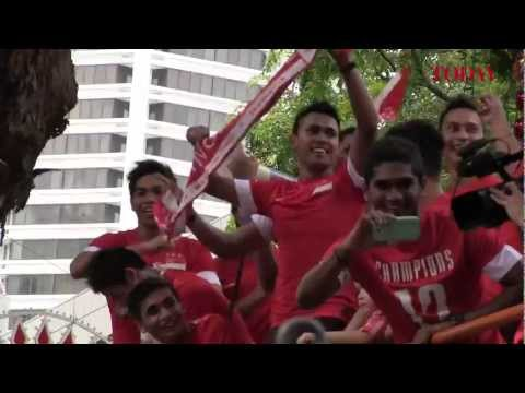Lions return victorious from AFF Suzuki Cup Final 2012