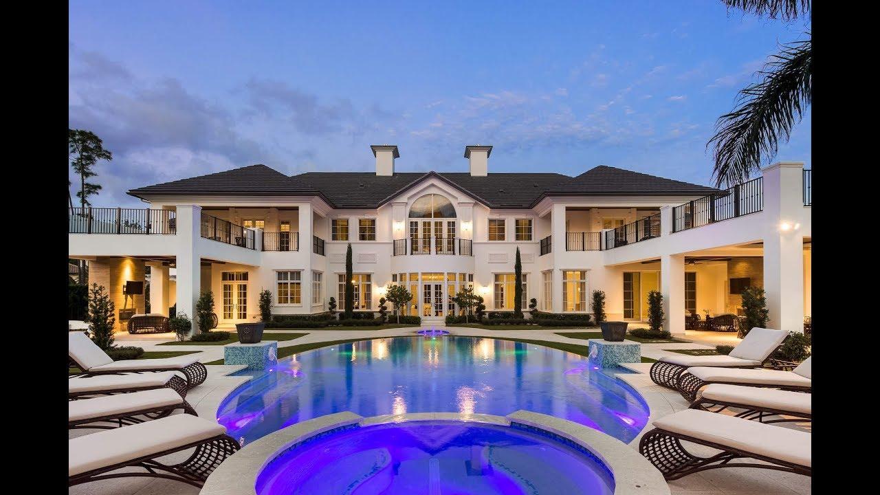 Luxury Mansions: Spectacular Luxury Mansion In Palm Beach Gardens, Florida