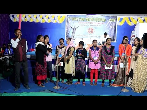 Yeshu Tera Hath Upar He Mere || Worship by Choir at Christian Youth Festival Loisingha