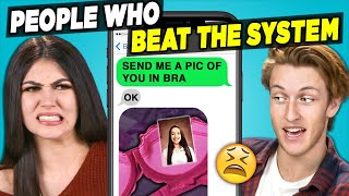 10 People Who Beat The System w/ Teens | The 10s