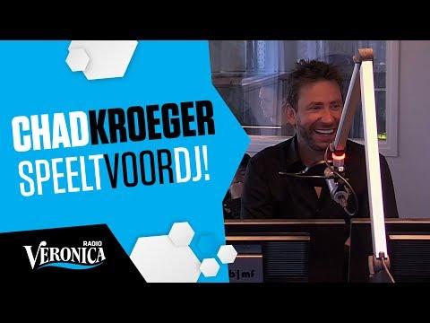 Zanger Nickelback speelt voor DJ // Interview Radio Veronica 25-05-2017