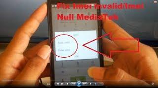 Mengatasi Imei Invalid/Imei Null MediaTek