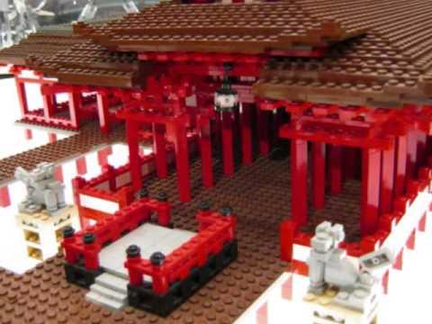 WORLD HERITAGE EXHIBIT BUILD WITH LEGO BRICK PART-3 In Hiroshima