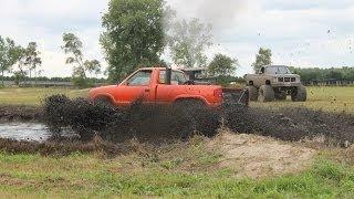 Loud 4x4 Mud Trucks - Quick Version - Gopher Dunes Fall Mudfest 2013
