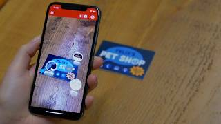 Youtube creating an augmented reality business card with zapworks overview reheart Choice Image