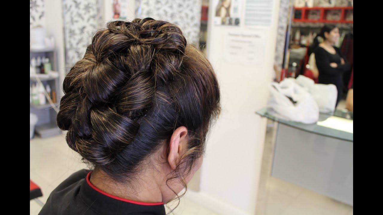 tutorial indian hairstyles