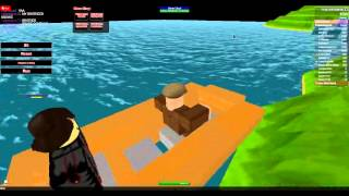 Life Boats in Spawn Sinking Ship Game - ROBLOX