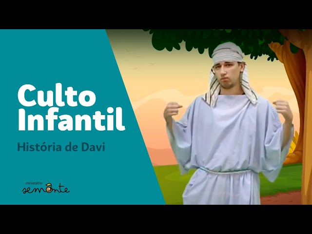 Culto Infantil | Davi e Golias | 22.11.2020
