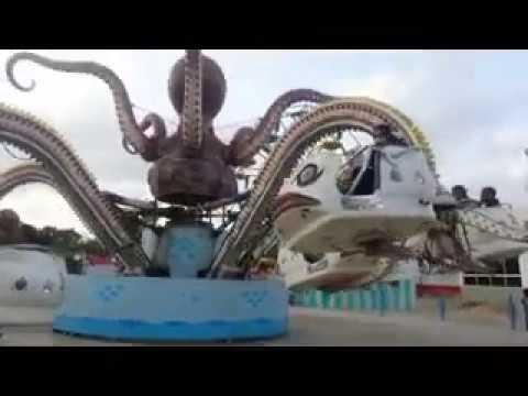 AMAZING VIDEO OCTOPUS RIDER AT PAF MUSUM