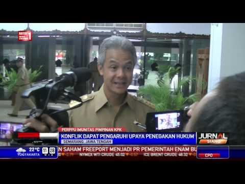 Ganjar: Perppu dari Jokowi Selesaikan Konflik KPK vs Polri