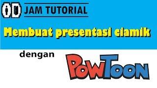 Tutorial membuat presentasi unik gratis dengan powtoon