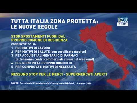 Coronavirus, Italia zona protetta. Ecco tutte le regole da sapere
