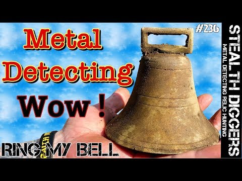 Metal Detecting NH 1700s old home & 1800s cabin site #236 Ring my bell found cellar hole detecting