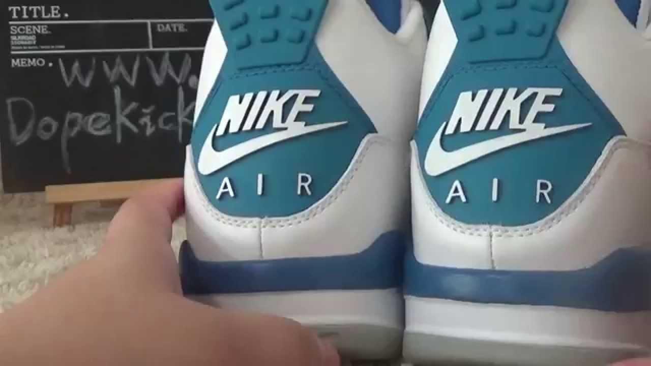 4ca912ce30b authentic air jordan 4 retro og 89 military blue reviews dopekicks23.cn  wholesale