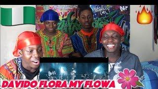 Davido - Flora My Flawa (Official Video) - (Best African Artist) - REACTION!!
