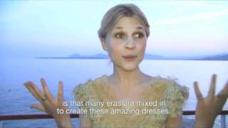Clemence Poesy Interview At Chanel Cruise Collection 2011-12